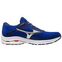Mizuno Wave Rider 24 Erkek Koşu Ayakkabısı Mavi - Thumbnail