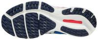 Mizuno Wave Rider 24 Kadın Koşu Ayakkabısı Mavi/Pember - Thumbnail