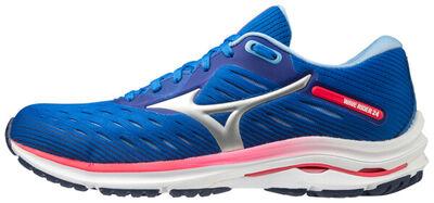 Mizuno Wave Rider 24 Kadın Koşu Ayakkabısı Mavi/Pember
