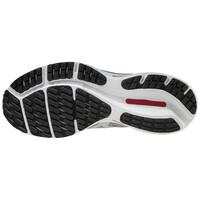 Mizuno Wave Rider 24 Erkek Koşu Ayakkabısı Gri/Beyaz - Thumbnail