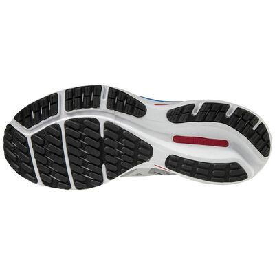 Mizuno Wave Rider 24 Erkek Koşu Ayakkabısı Gri/Beyaz