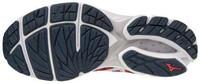 Mizuno Wave Rider Waveknit 3 Kadın Koşu Ayakkabısı Kırmızı / Lacivert - Thumbnail
