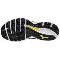 Mizuno Wave Sky 4 Kadın Koşu Ayakkabısı Siyah/Mavi - Thumbnail