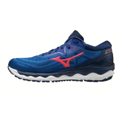 Mizuno Wave Sky 4 Erkek Koşu Ayakkabısı Mavi/Turuncu