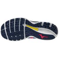 Mizuno Wave Sky 4 Erkek Koşu Ayakkabısı Mavi/Turuncu - Thumbnail