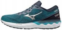 Wave Skyrise 2 Erkek Koşu Ayakkabısı Mavi/Yeşil - Thumbnail