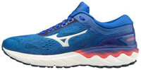 Mizuno Wave Skyrise Kadın Koşu Ayakkabısı Mavi - Thumbnail