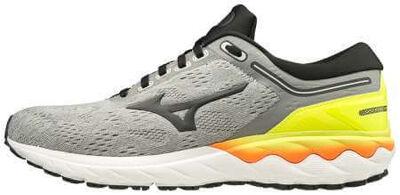 Mizuno Wave Skyrise Erkek Koşu Ayakkabısı Gri/Sarı