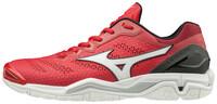 MIZUNO - Mizuno Wave Stealth 5 Kadın Hentbol Ayakkabısı Kırmızı