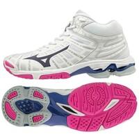 Wave Voltage MID Unisex Voleybol Ayakkabısı Beyaz - Thumbnail