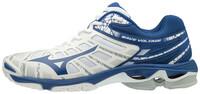 Mizuno Wave Voltage Unisex Voleybol Ayakkabısı Beyaz / Mavi - Thumbnail