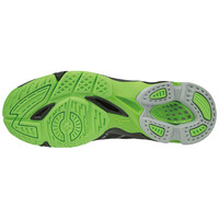 Mizuno Wave Voltage Unisex Voleybol Ayakkabısı Siyah / Yeşil - Thumbnail