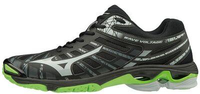 Mizuno Wave Voltage Unisex Voleybol Ayakkabısı Siyah / Yeşil