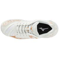 Mizuno Wave Voltage Unisex Voleybol Ayakkabısı Beyaz / Sarı - Thumbnail