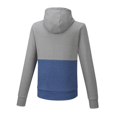 Zip Hoody Erkek Sweat Gri/Mavi