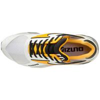 Mizuno Mondo Control Unisex Günlük Giyim Ayakkabısı Beyaz/Sarı - Thumbnail