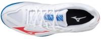 Thunder Blade 3 Erkek Voleybol Ayakkabısı Beyaz/Mavi - Thumbnail
