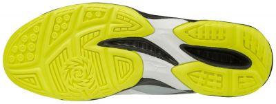 Mizuno Thunder Blade Unisex Voleybol Ayakkabısı Gri / Sarı