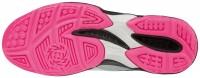Mizuno Thunder Blade Kadın Voleybol Ayakkabısı Beyaz / Pembe - Thumbnail