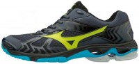 MIZUNO - Mizuno Wave Bolt 7 Voleybol Ayakkabısı Siyah/Sarı