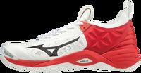 Mizuno Wave Momentum Unisex Voleybol Ayakkabısı Beyaz/Kırmızı - Thumbnail