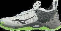 Mizuno Wave Momentum Unisex Voleybol Ayakkabısı Gri/Yeşil - Thumbnail