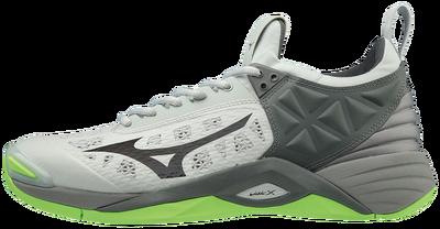 Mizuno Wave Momentum Unisex Voleybol Ayakkabısı Gri/Yeşil