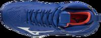 Mizuno Wave Momentum MID Unisex Voleybol Ayakkabısı Mavi - Thumbnail