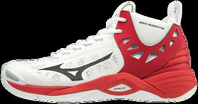 Mizuno Wave Momentum MID Unisex Voleybol Ayakkabısı Kırmızı/Beyaz