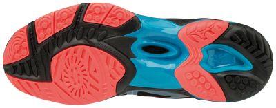 Mizuno Wave Hurricane 3 Kadın Voleybol Ayakkabısı Siyah / Pembe