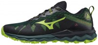 Wave Daichi 6 Erkek Koşu Ayakkabısı Siyah/Yeşil - Thumbnail