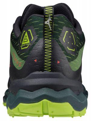 Wave Daichi 6 Erkek Koşu Ayakkabısı Siyah/Yeşil
