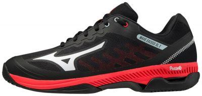 Wave Exceed SL 2 AC Erkek Tenis Ayakkabısı Siyah