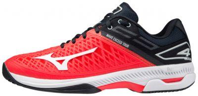 Wave Exceed Tour 4 AC Unisex Tenis Ayakkabısı Kırmızı/Siyah