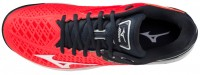 Wave Exceed Tour 4 AC Unisex Tenis Ayakkabısı Kırmızı/Siyah - Thumbnail