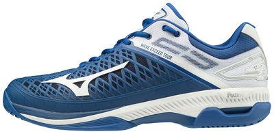 Mizuno Wave Exceed Tour 4 AC Unisex Tenis Ayakkabısı Lacivert/Beyaz