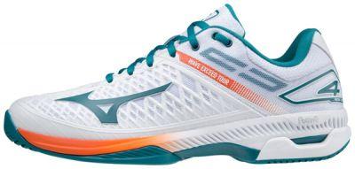 Wave Exceed Tour 4 AC Erkek Tenis Ayakkabısı Beyaz/Mavi