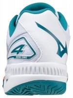 Wave Exceed Tour 4 AC Erkek Tenis Ayakkabısı Beyaz/Mavi - Thumbnail