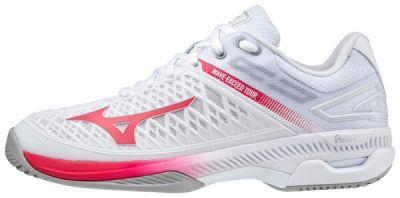 Wave Exceed Tour 4 AC Unisex Tenis Ayakkabısı Beyaz/Kırmızı