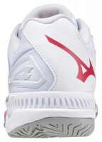 Wave Exceed Tour 4 AC Unisex Tenis Ayakkabısı Beyaz/Kırmızı - Thumbnail