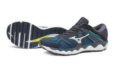 Mizuno Wave Horizon 4 Erkek Koşu Ayakkabısı Lacivert