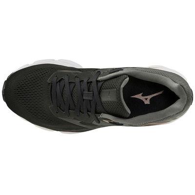 Mizuno Wave Inspire 16 (W) Kadın Koşu Ayakkabısı Siyah/Gri