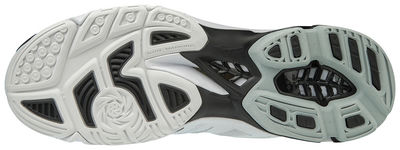 Mizuno Wave Lightning Z5 MID Voleybol Ayakkabısı Beyaz/Siyah