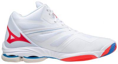 Wave Lightning Z6 Mid Unisex Voleybol Ayakkabısı Beyaz
