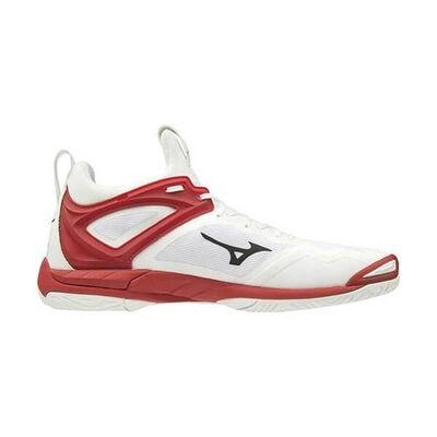Mizuno Wave Mirage 3 Erkek Hentbol Ayakkabısı Beyaz / Kırmızı