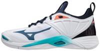 Wave Momentum 2 Unisex Voleybol Ayakkabısı Beyaz/Siyah - Thumbnail
