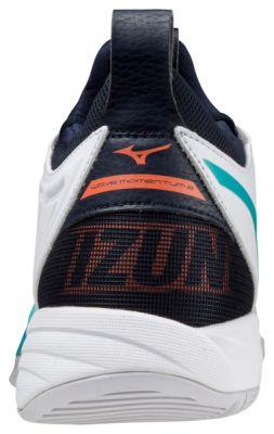 Wave Momentum 2 Unisex Voleybol Ayakkabısı Beyaz/Siyah