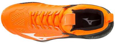 Wave Momentum Unisex Voleybol Ayakkabısı Turuncu/Siyah