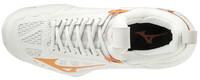 Mizuno Wave Momentum Unisex Voleybol Ayakkabısı Beyaz/Sarı - Thumbnail