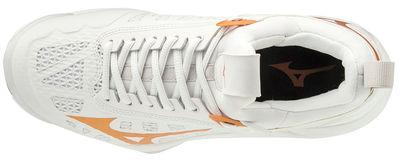 Mizuno Wave Momentum Unisex Voleybol Ayakkabısı Beyaz/Sarı
